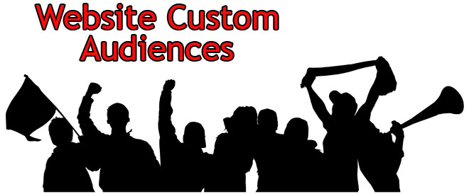 how to create website custom audience