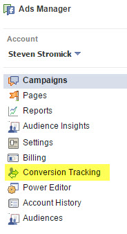 facebook ads conversion tracking