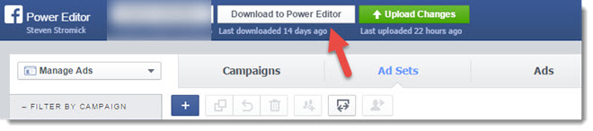 download ads to power editor