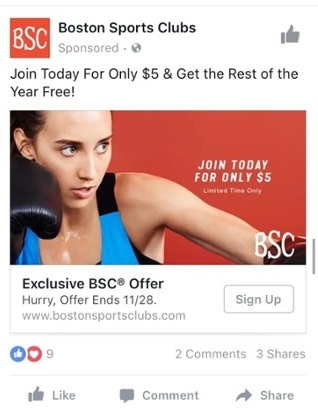 special offer ads