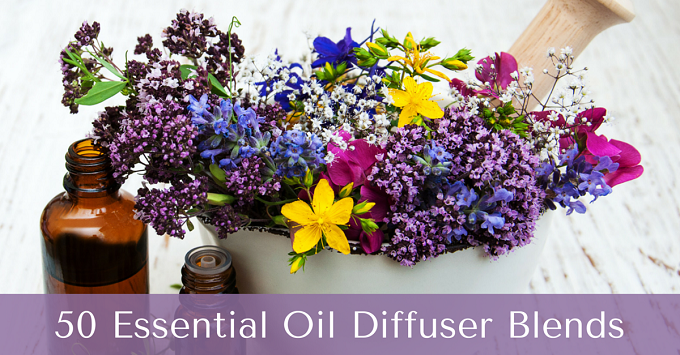 50 essential oil diffuser blends