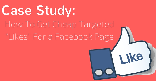case study how to get page likes