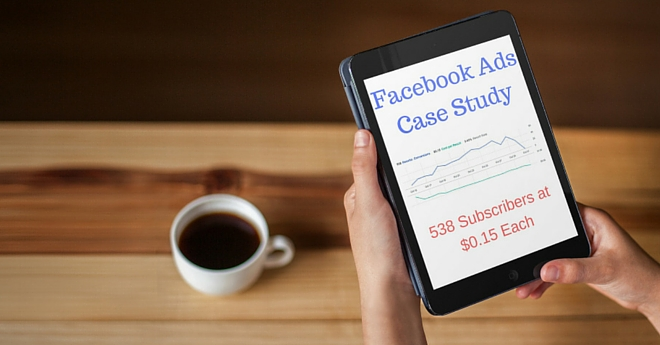 facebook ads case study list building