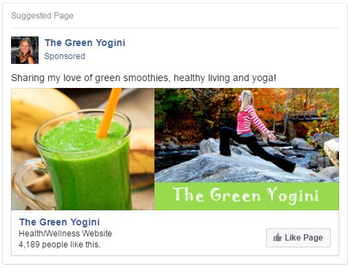 page like ad