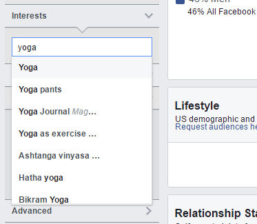 yoga interests