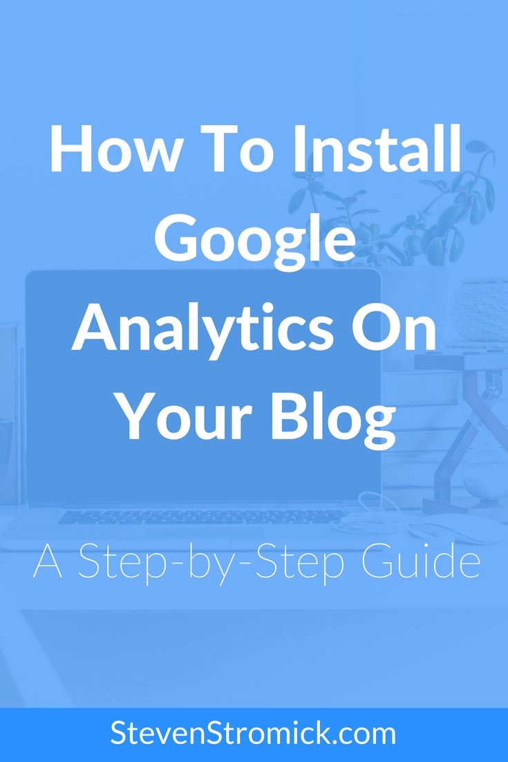 Learn how to install Google Analytics on your blog and get it setup to start tracking your website statistics.