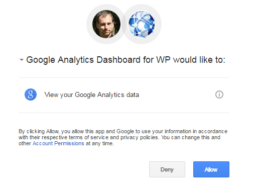 allow analytics permission