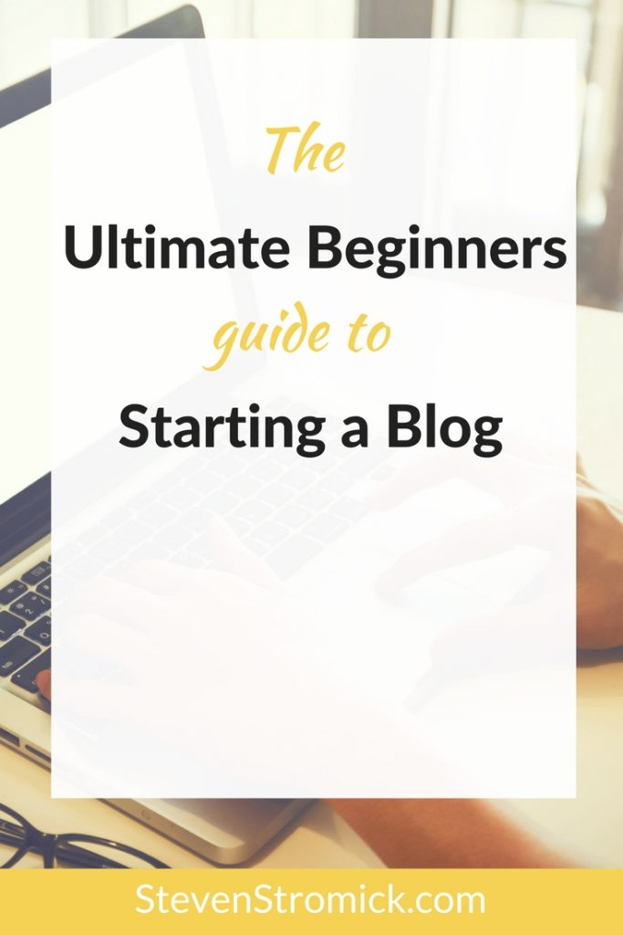 ultimate beginners guide to starting a blog