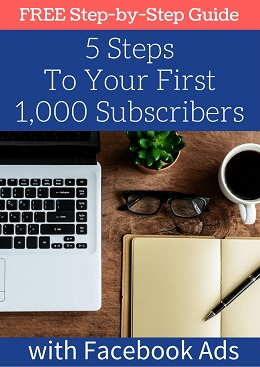5 steps to your first 1,000 subscribers guide