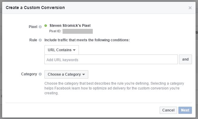 add conversion url