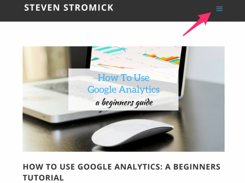 10 essential divi tips steven stromick - Divi mobile menu ...