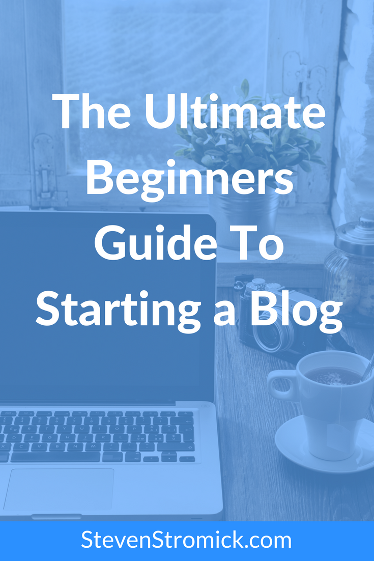 The ultimate beginners guide to starting a blog, I will take you step-by-step through everything you need to do to get your blog setup, configured and live on the web.