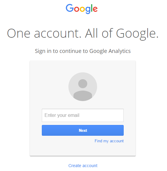 sign into google
