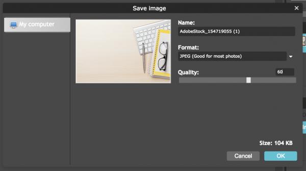 image quality setting
