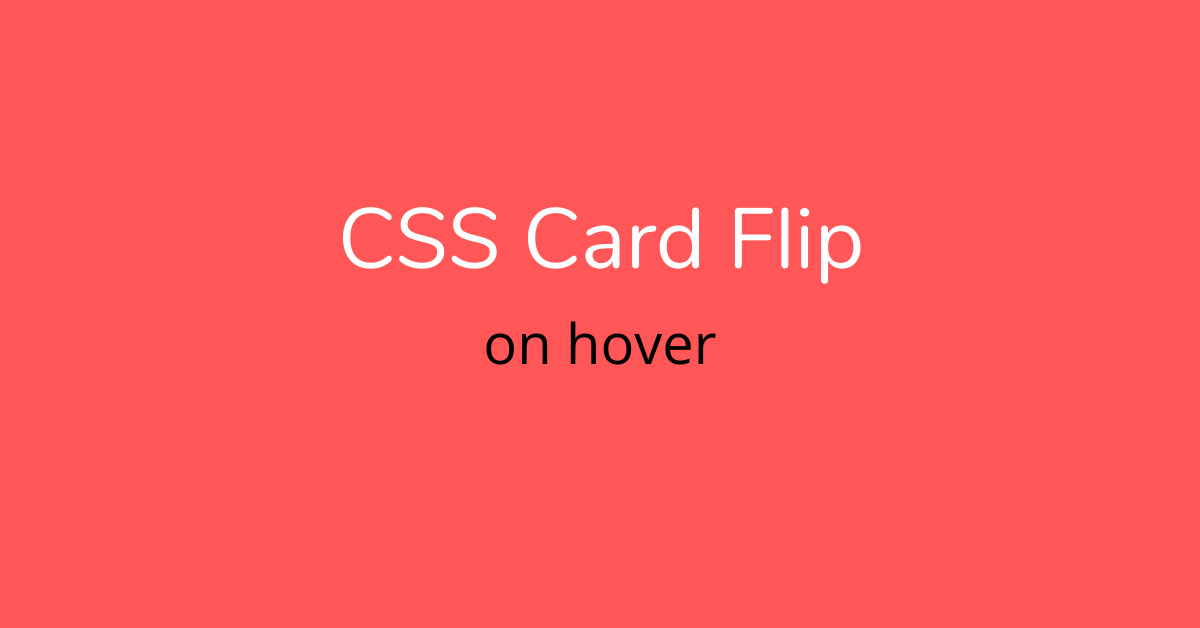 css card flip
